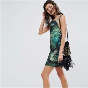 Palm scuba dress